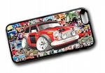 Koolart STICKERBOMB STYLE Design For Classic Mini Cooper S Works Hard Case Cover Fits Apple iPhone 6 & 6s